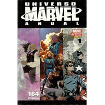 Universo Marvel Anual #01 Panini - Bonellihq Cx 100