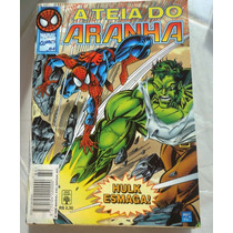 A Teia Do Aranha Nº 84, Ed. Abril, Hulk Esmaga!