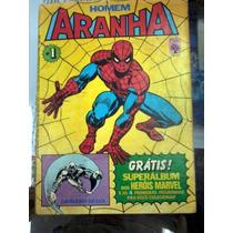 Gibi Homem Aranha Nº 1 Formatinho Abril Bom Raridade A
