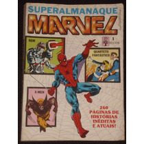 Superalmanaque Marvel Nº 1 - Ed. Abril - 1989