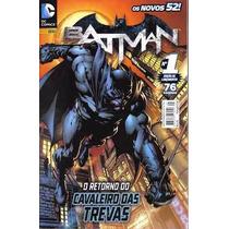 Batman 1 - 10 - Novos 52 - Panini (lacrada)