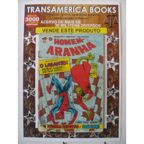 Gibi: Homem Aranha Nº 3 - Ano 1 - 1972 - Bloch