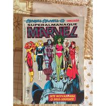 Superalmanaque Marvel N°09 Ed.abril Excelente Estado
