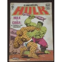 O Incrível Hulk Nº 38 - Ed. Abril - 1986