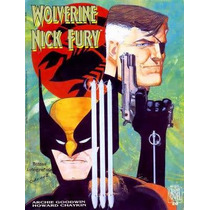 Wolverine E Nick Fury - Conexão Scorpio - Graphic Novel N 20