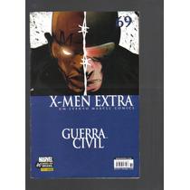 X-men Extra Nº 69 - Guerra Civil - Marvel - Panini Comics