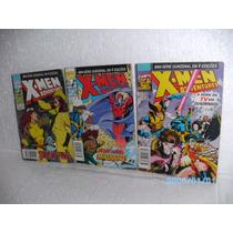 3 Gibis X-men Adventures Nºs 1-2-4 Abril(valor Lote) Hq Fj