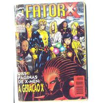 Fator X Nº 1 - 1997 - Veja Nossos Gibis E Hq Antigos