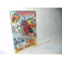Hq Gibi X-men # 79 X-force E Homem Aranha Ed. Abril 1995 -fj