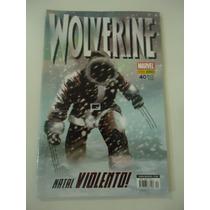 Wolverine #40 Ano 2008 Panini