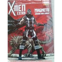Hq X-men Extra - Magneto Jogado Aos Lobos. Nº 20 C/ 148 Pg