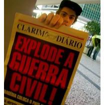 Jornal Clarim Diário: Guerra Civil Especial - Panini (novo)