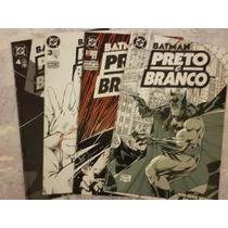 Batman Preto E Branco - Série Completa - 04 Edições - Abril