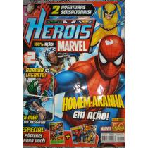 Revista Heróis Marvel- Número 2- 100% Ação