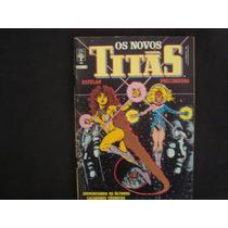 Formatinho Gibi Marvel Raridade Dc Comics Os Novos Titas 45