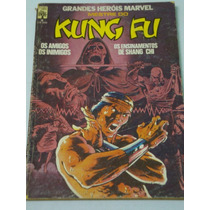 Mestre Do Kung Fu Nº 6 De 1984. De Stan Lee. Rara Da Abril