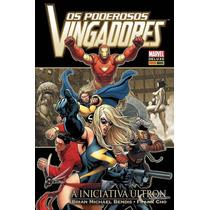 Panini - Marvel Deluxe Os Poderosos Vingadores Capa Dura