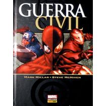 Guerra Civil - Marvel - Panini Deluxe - Capa Dura - Lacrado