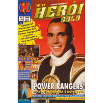 Revista Heroi Gold Nº 71 - 1996 / Power Rangers, Marvel X Dc