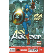 Avante Vingadores 16 Nova Marvel Panini - Bonellihq Cx 98