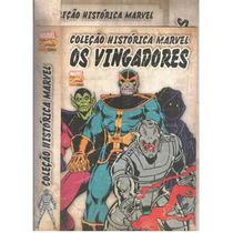 Coleção Histórica Marvel - Os Vingadores - Com Box
