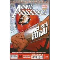 Avante Vingadores 18 Nova Marvel - Panini - Bonellihq Cx 153