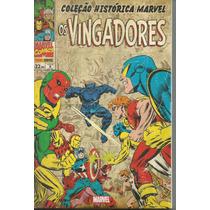 Colecao Historica Marvel Vingadores 08 - Bonellihq Cx249