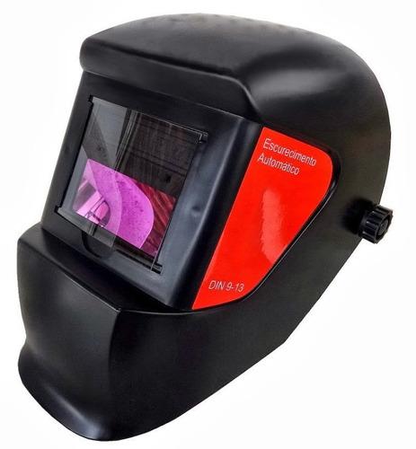 Mascara De Solda Com Escurecimento Automático De 9 A 13