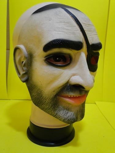 Mascara Pirata Bandido Jack Sparrow Latex Adulto - mascara-pirata-bandido-jack-sparrow-latex-adulto-23117-MLB20243053194_022015-O