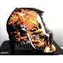 Máscara De Solda Profissional Auto Escurecimento Caveira