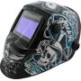 Máscara De Solda Automática Gtf-6140 C/lente 718g +3 Brinde