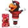 Boneco Mascote Flamengo Urubu Vinil Times