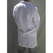 Jalecos, Avental, Longos,branco,azul,mangas Curtas E Longas