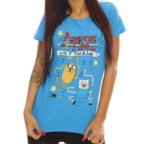 Camiseta Adventure Time - Science Dance, Feminina M