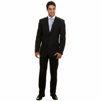 Terno Oxford Slim 2 Botoes Corte Italiano Mais Brindes