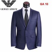 Terno Giorgio Armani Lã Fria 52