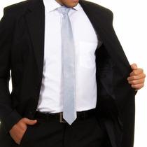 Terno Slim Masculino Oxford 2 Botoes+ Brindes Pronta Entrega