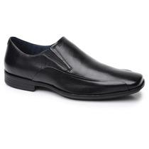 Sapato Social Preto Ferracini Couro Legitimo M2 6236-248g