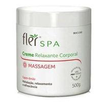 Creme Para Massagens Relaxante Corporal Capim Limão