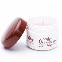 Vela Hidratante Com Óleo P/ Massagem Chocolate Love
