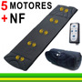 Esteira Massageadora C/ 5 Motores C/ Controle Supermedy