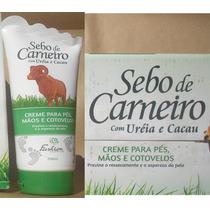 Sebo De Carneiro - Creme P/ Pés E Mãos - Envio Imediato