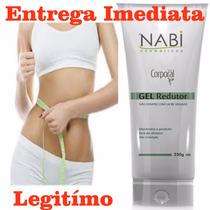 Gel Redutor Nabi, Gordura Localizada, Celulite, Flacidez