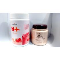Emagrecer Com Saúde Kit Completo , Gel Emagrecedor E Shakeh+