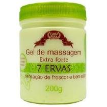 Gel De Massagem 7 Ervas Flora Pura 200g- 12 Unidades