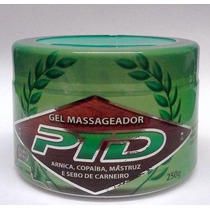 Gel Massageador Ptd 250g Flora Pura- 6 Unidades
