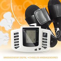 Massageador Digital Fisioterapeia Portátil + Chinelos!!!