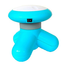 Mini Massageador Supermedy Com Usb Azul