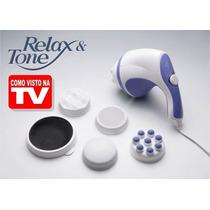 Massageador Relax E Spin Drenagem, Barriga Orbital Vol. 220v