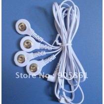 Fio Conector P/aparelho Massageador Plug Stud C/4 Vias-saida